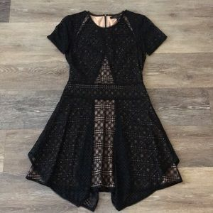 BCBG Maxazria dress- black- size S